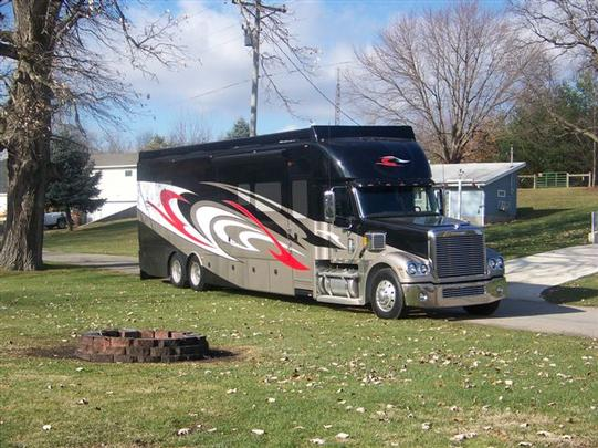 2009 silver crown luxury coach coronado chassis