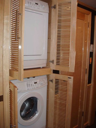 Maytag Washer & Dryer in Bathroom