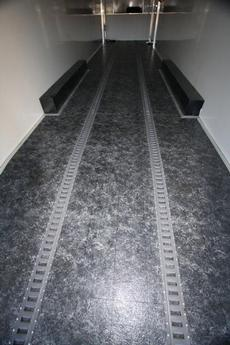CONTINENTIAL CARGO 48' FLOOR SHOWING E-TRACK