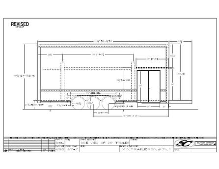 FLOOR PLAN TRAILER SIDE